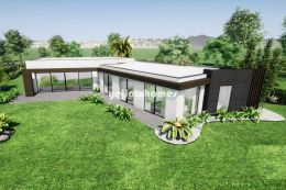 Modern 3-bed villa under construction on a Golf...